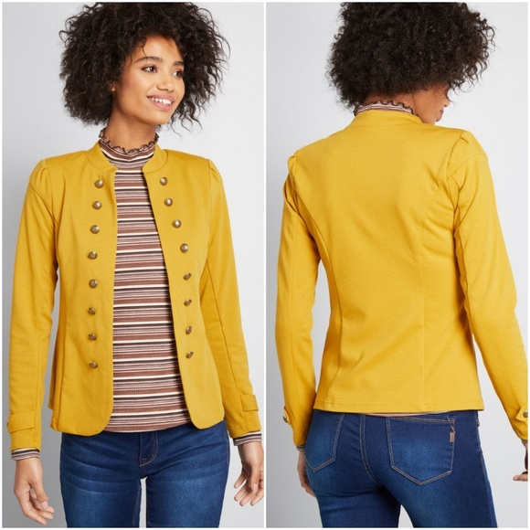 c2f4fe915bf Modcloth Glam Believer Knit Jacket